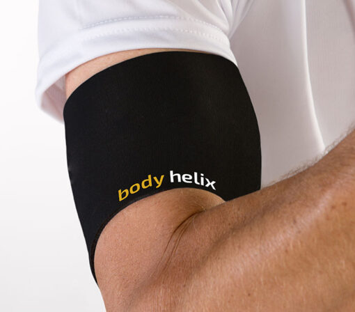 Biceps and triceps compression support