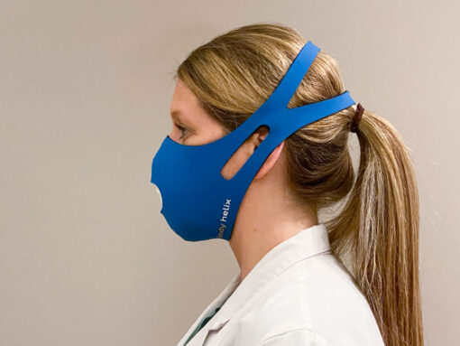 Body Helix face mask side view